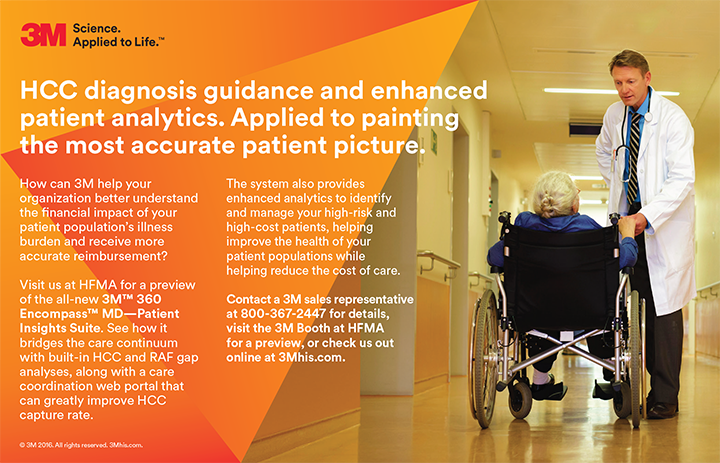 HCC diagnosis guidance and enhanced patient analytics. Applied to painting the most accurate patient picture.